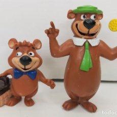 Figuras de Goma y PVC: LOTE DE 2 FIGURAS DE PVC YOGUI Y BUBU MARCA COMICS SPAIN. Lote 288696638