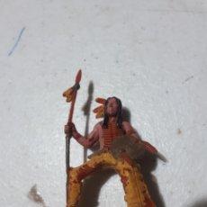 Figuras de Goma y PVC: ANTIGUO INDIO POSIBLEMENTE JECSAN PECH O SIMILAR. Lote 288707858