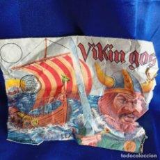Figuras de Goma y PVC: SOBRE Y GUERREROS VIKINGOS - MONTAPLEX . ORIGINAL AÑOS 70 / 80. Lote 288733248