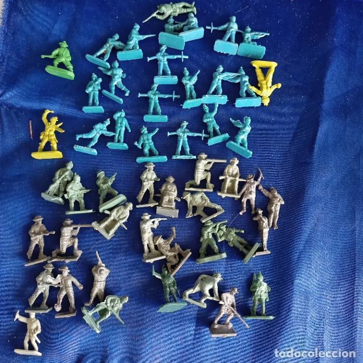 LOTE FIGURITAS MONTAPLEX (Juguetes - Figuras de Goma y Pvc - Montaplex)