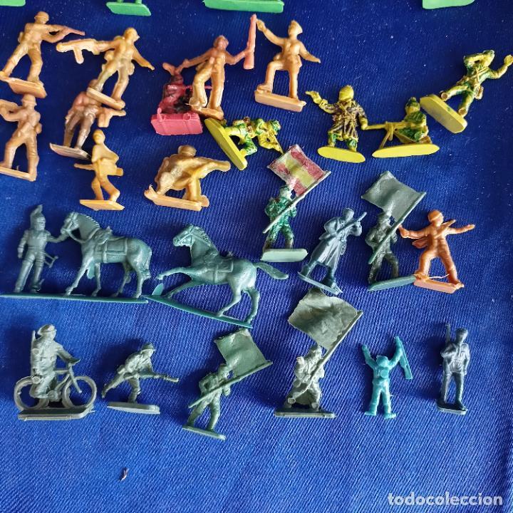 LOTE FIGURITAS MONTAPLEX RAROS (Juguetes - Figuras de Goma y Pvc - Montaplex)