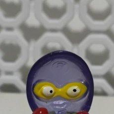 Figuras de Goma y PVC: MUÑECO SUPERZINGS CRYSTAL TRANSPARENTE. Lote 288869818