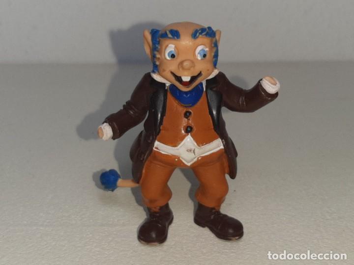 Figuras de Goma y PVC: COMICS SPAIN : ANTIGUA FIGURA DE GOMA DE LOS DIMINUTOS ABUELO AÑOS 80 - Foto 2 - 288878503