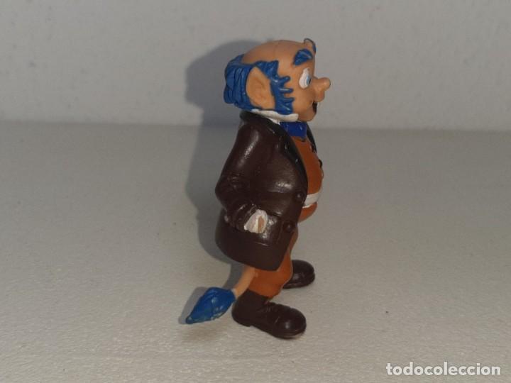 Figuras de Goma y PVC: COMICS SPAIN : ANTIGUA FIGURA DE GOMA DE LOS DIMINUTOS ABUELO AÑOS 80 - Foto 4 - 288878503