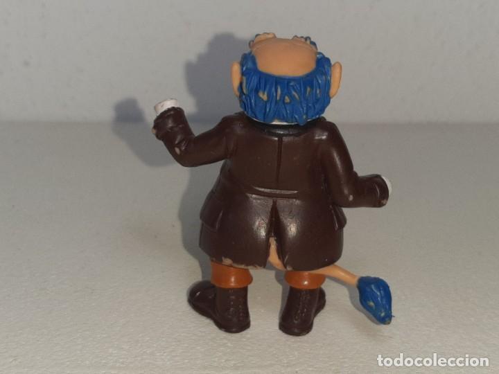 Figuras de Goma y PVC: COMICS SPAIN : ANTIGUA FIGURA DE GOMA DE LOS DIMINUTOS ABUELO AÑOS 80 - Foto 5 - 288878503
