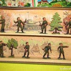 Figuras de Goma y PVC: ANTIGUA CAJA COMPLETA DE LA ARMADA ITALIANA FABRICADA POR STARLUX - AÑO 1960-70S.. Lote 288881868