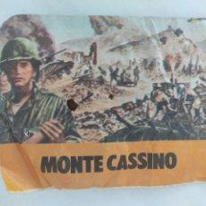 Figuras de Goma y PVC: SOBRE TIPO MONTAPLEX MONTE CASSINO SIN ABRIR AÑOS 70. Lote 288882263