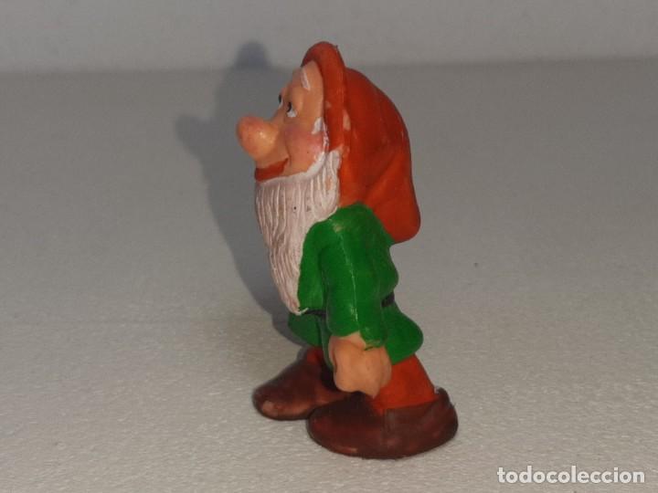 Figuras de Goma y PVC: ANTIGUA FIGURA DE GOMA DE ENANITO BLANCANIEVES Y LOS 7 ENANITOS PVC NO TOXICO AÑOS 80 - Foto 5 - 288888068