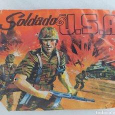 Figuras de Borracha e PVC: SOBRE TIPO MONTAPLEX SOLDADOS U.S.A LA ILUSION J GIMENO VALERO. Lote 288888138