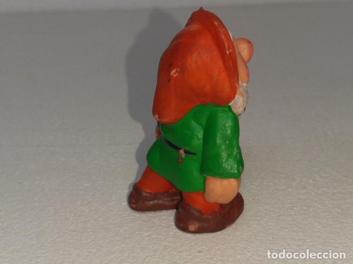 Figuras de Goma y PVC: ANTIGUA FIGURA DE GOMA DE ENANITO BLANCANIEVES Y LOS 7 ENANITOS PVC NO TOXICO AÑOS 80 - Foto 4 - 288888258