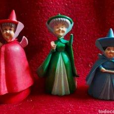 Figuras de Goma y PVC: TRES HADAS DE BULLYLAND. Lote 288890658