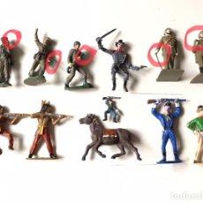 Figuras de Goma y PVC: REAMSA, JECSAN, COMANSI LOTE DE FIGURAS DEFECTUOSAS. Lote 288903033