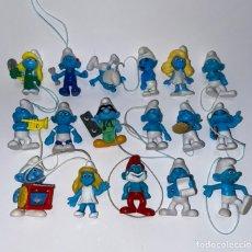 Figuras de Goma y PVC: LOTE DE FIGURA DE PVC DE LOS PITUFOS - LES SCHTROUMPFS. Lote 288931918