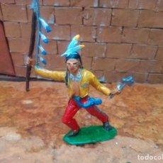 Figuras de Goma y PVC: INDIO DE COMANSI. Lote 288955078
