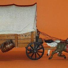 Figuras de Goma y PVC: CARRETA/CARAVA DEL OESTE DE PECH, AÑOS 50, PRIMERA SERIE. ( TIPO REAMSA, JECSAN)... Lote 288968598