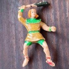 Figuras de Goma y PVC: CRISPIN PARA CABALLO . REALIZADO POR ESTEREOPLAST . AÑOS 50 / 60. Lote 289021373