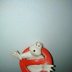 Figuras de Goma y PVC: CAZAFANTASMAS LOGO PVC. Lote 289304098