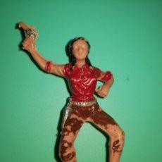 Figuras de Goma y PVC: INDIO 6 CM JECSAN REANSA PECH TEIXIDO LAFREDO. Lote 289356568