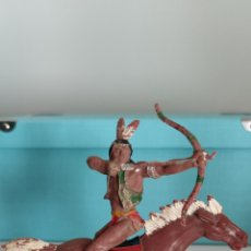 Figuras de Goma y PVC: LAFREDO INDIO SERIE GRANDE AÑOS 50. Lote 289364278