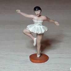 Figuras de Goma y PVC: BAILARINA DE BALLET DANCER, BAQUELITA, SOTORRES MADE IN SPAIN, ORIGINAL AÑOS 60.. Lote 289373853
