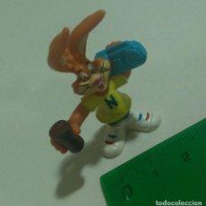 Figuras de Goma y PVC: FIGURA QUICKY PUBLICITARIA PROMOCIONAL NESQUICK MUÑECO PVC GOMA PREMIUM NESQUIK MINIATURA MINI. Lote 289519093