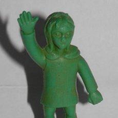 Figuras de Goma y PVC: PEQUENA FIGURA DEL RUY EL PEQUEÑO CID. Lote 289529568