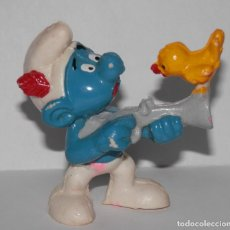 Figuras de Goma y PVC: FIGURA DE PVC DE LA SERIE LOS PITUFOS. Lote 289530258