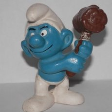 Figuras de Goma y PVC: FIGURA DE PVC DE LA SERIE LOS PITUFOS. Lote 289530268