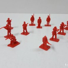 Figuras de Goma y PVC: LOTE DE SOLDADITOS MONTAPLEX - RUSIA DEL ZAR . AÑOS 70 / 80. Lote 289536333