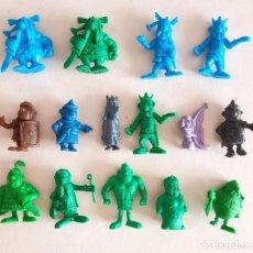Figuras de Goma y PVC: LOTE FIGURAS DUNKIN Y OTRAS ASTERIX Y OBELIX. Lote 289580758