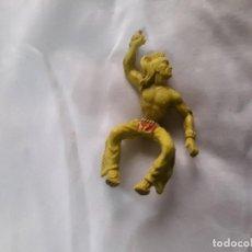 Figuras de Goma y PVC: FIGURA INDIO PVC A CABALLO JECSAN REAMSA PEACH COMANSI. Lote 289626858