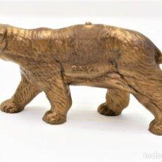 Figuras de Goma y PVC: ANTIGUA FIGURA PUBLICITARIA DEL DETERGENTE BONUX. COLECCIÓN ANIMALES. ORIGEN FRANCIA.. Lote 289647703