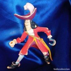 Figuras de Goma y PVC: ANTIGUA FIGURA PVC DEL CAPITAN GARFIO. ORIGINAL DE DISNEY - BULLY.. Lote 290078543