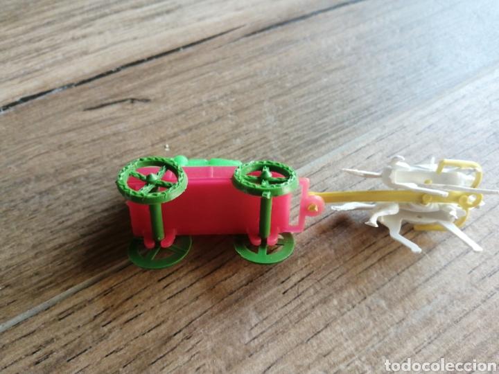 Figuras de Goma y PVC: Carreta de transporte - montaplex - Foto 2 - 290090338