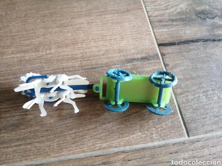 Figuras de Goma y PVC: Carreta de transporte - montaplex - Foto 2 - 290090948