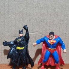Figure di Gomma e PVC: FIGURAS PVC BATMAN Y SUPERMAN BULLY. Lote 290278833