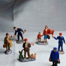 Figuras de Goma y PVC: FIGURAS MINI FERROVIARIOS. FABRICADO POR PECH HERMANOS. Lote 290707153