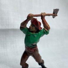 Figuras de Goma y PVC: FIGURA PIRATA EN GOMA. DE PECH HERMANOS AÑOS 50. Lote 290832223