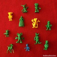 Figuras de Borracha e PVC: DUNKIN DISNEY / 1 FIGURA A ELEGIR. Lote 290832278