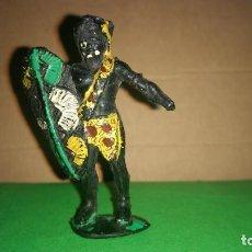 Figuras de Goma y PVC: FIGURA NEGRO AFRICA ARCLA ORIGINAL AÑOS 50. Lote 290909823