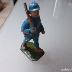 Figuras de Goma y PVC: QUIRALU SOLDADO FRANCES ALUMINIO. Lote 290997103