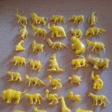 Figure di Gomma e PVC: DUNKIN LOTE 34 ANIMALES AMARILLOS. Lote 292042653