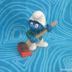 Figuras de Goma y PVC: ANTIGUO PITUFO, SCHLEICH 99 PEYO, NUM 2. Lote 292296373