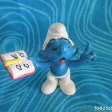 Figuras de Goma y PVC: ANTIGUO PITUFO, SCHLEICH 80 PEYO, NUM 5. Lote 292297928