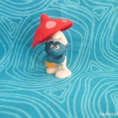 Figuras de Goma y PVC: ANTIGUO PITUFO, SCHLEICH PEYO, NUM 6. Lote 292298608