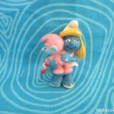 Figuras de Goma y PVC: ANTIGUO PITUFINA, GERMANY 1983, NUM 7. Lote 292299018
