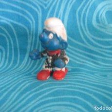 Figuras de Goma y PVC: ANTIGUO PITUFO, SIN MARCA NUM 10. Lote 292299968