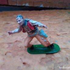 Figuras de Goma y PVC: VAQUERO DE JECSAN. Lote 292349758