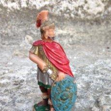 Figuras de Goma y PVC: CENTURIÓN ROMANO FIGURA ANTIGUA PLÁSTICO AÑOS 60/70 REAMSA. Lote 292538928