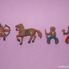 Figuras de Goma y PVC: ANTIGUO LOTE DE FIGURAS EN GOMA PINTADA DE LAFREDO LAFREDIN - REAMSA JECSAN PECH. Lote 292554668